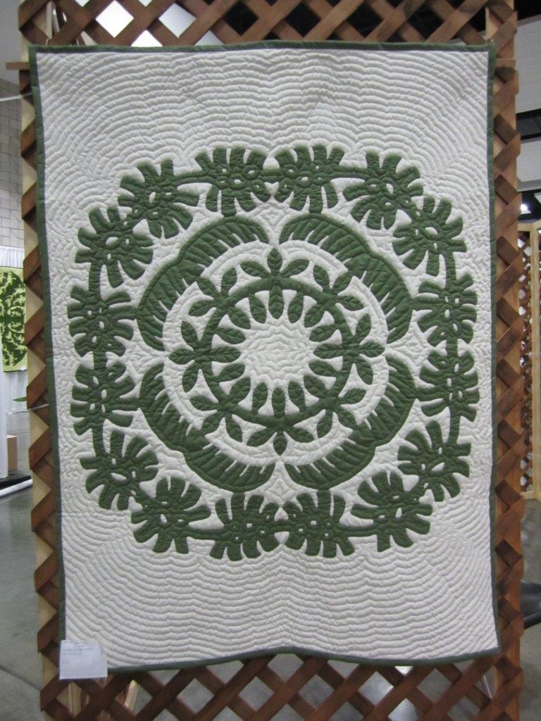 "Hawaiian Greenery 45"" x60"""