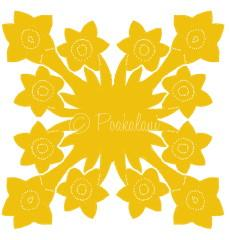 March - Daffodile Symbolizing Friendship, Modesty and Respect