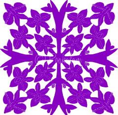 July - Larkspur Symbolizing Enduring Love